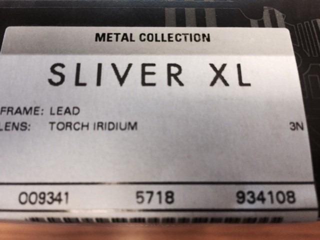 oakley sliver xl lead