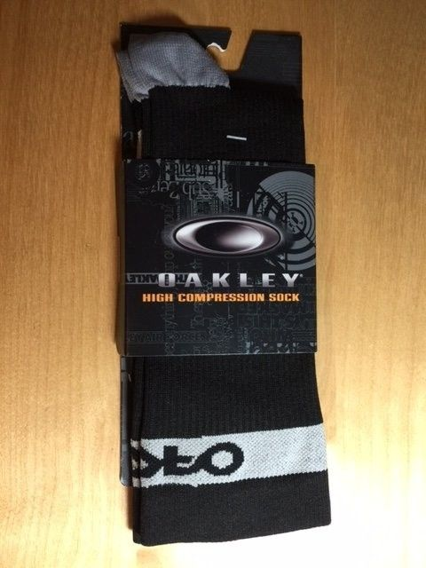 Oakley Compression Socks Sz 10-13 Black, Sheet Metal SOLD - Socks.JPG