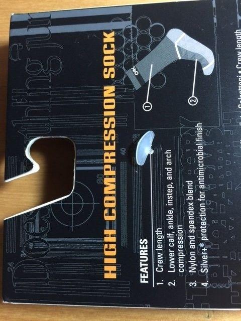 Oakley Compression Socks Sz 10-13 Black, Sheet Metal SOLD - Socks1.JPG