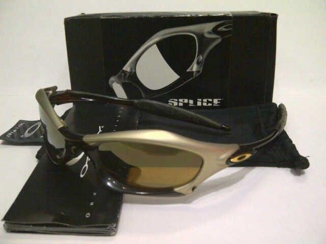 WTS Oakley Splice Platinum Rootbeer Gold Set - spliceplatinum-rootbeergold_set.jpg