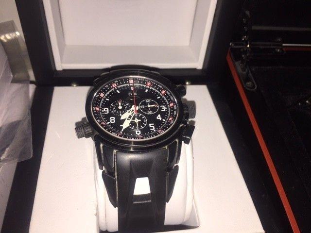 My Oakley Watch Collection - stealth 12 gauge.JPG