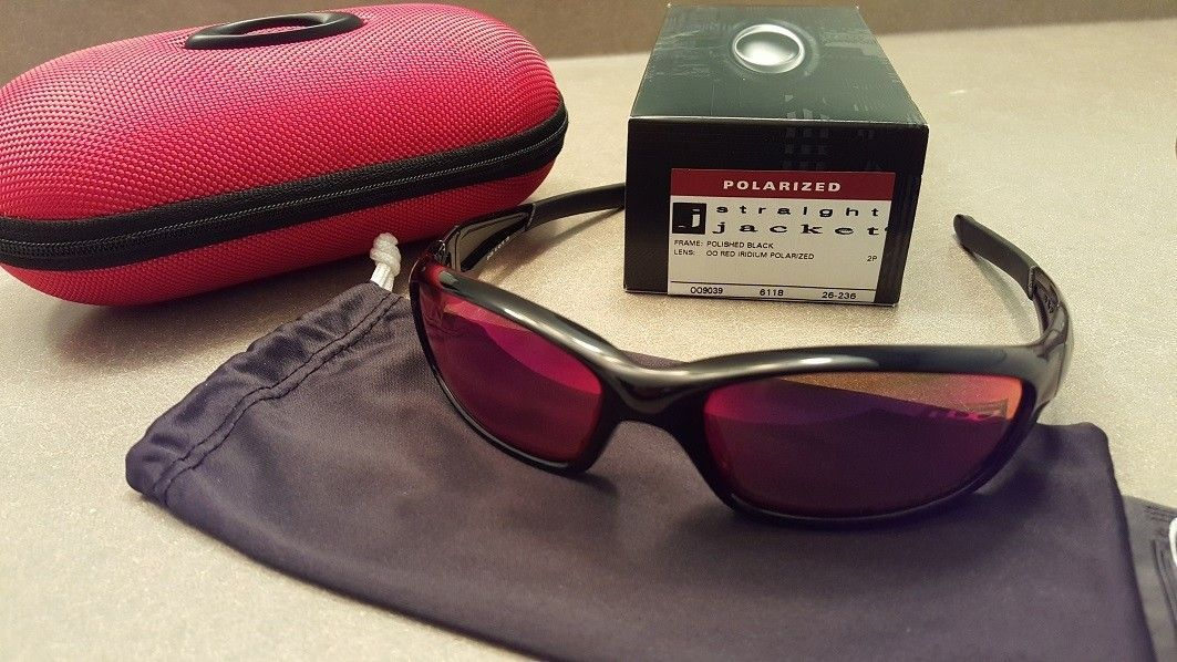 Straight Jackets (Polished Black w/oo Red iridium polarized) - straight1.jpg