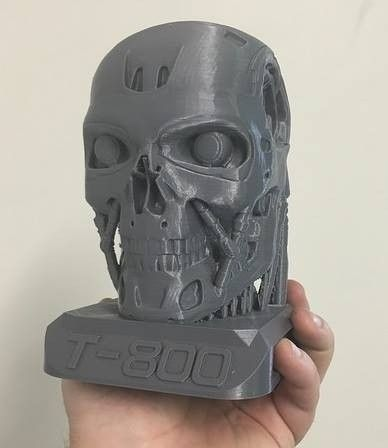 Non-Oakley Display Stand Ideas - T800 Terminator Bust (ii).jpg