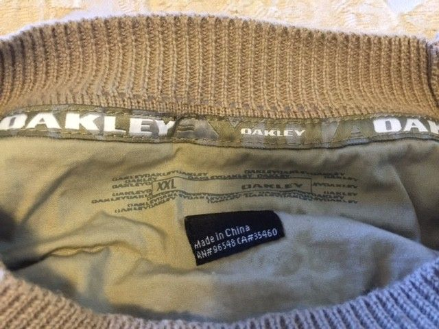 Oakley Snow/Ski Sweaters Size: XXL (3) different ones. - Tan2.JPG