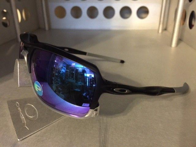Oakley Triggerman Matte Blk/Sapphire Irid. Polarized SOLD - TriggerS.JPG