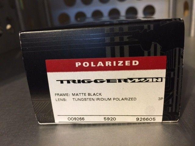 Oakley Triggerman Matte Blk/Tungsten Irid. Polarized SOLD - TriggerT3.JPG