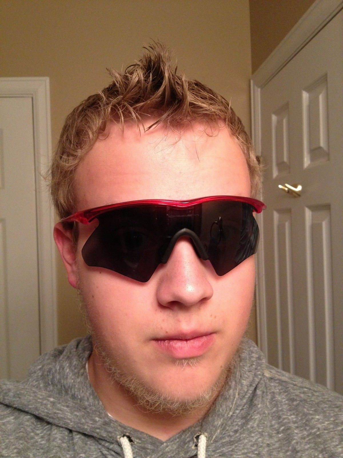 Oakley Batwolf On Face