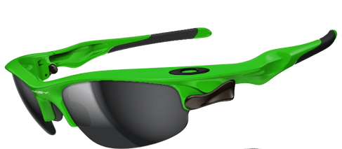 oakley green sunglasses  Team Bright Green Question