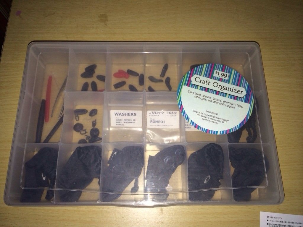 I Am Rich & This Is How I Organize My Trim Kits And Lenses. - uduqe6u6.jpg
