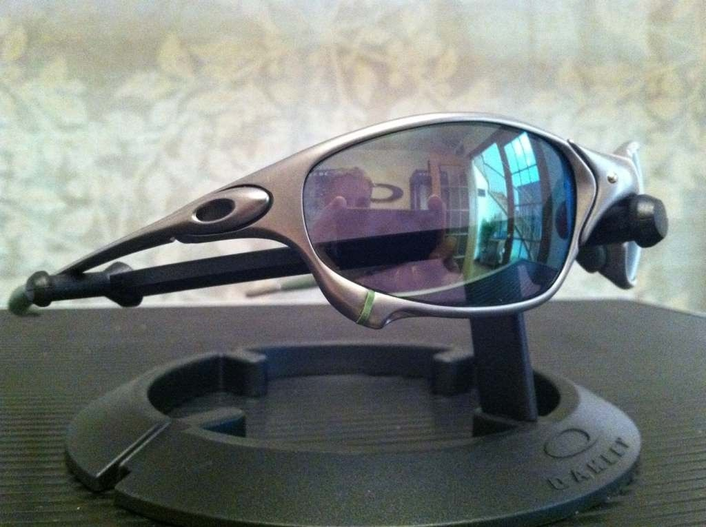 Oakley Juliet Plasma/Emerald W/Ichiro Rubber Kit........ (IH Frame) - unegyzyb.jpg