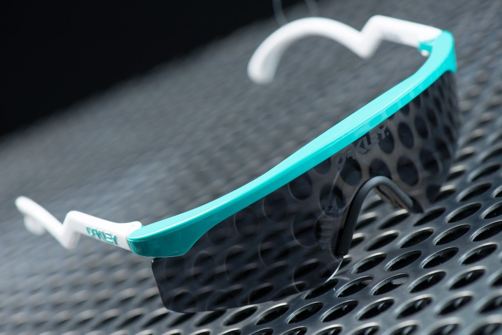 2 of 3 Signed Oakley Heritage Razorblades by Jim Jannard - Seafoam with Grey - Untitled Session00361.jpg
