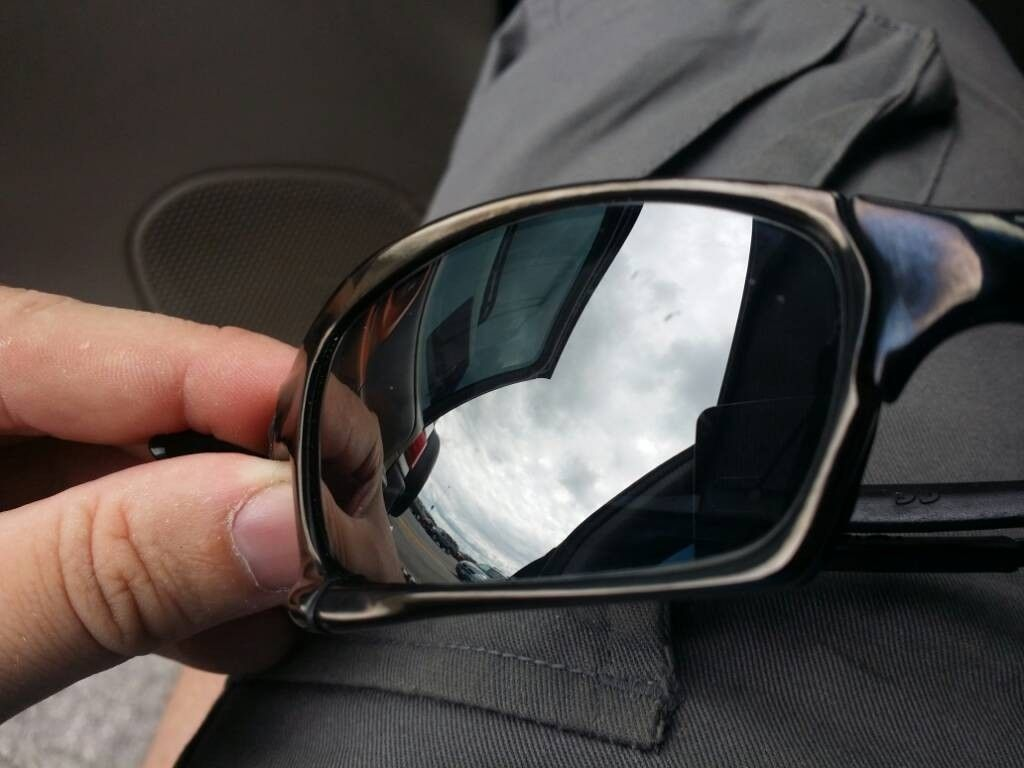 X Squared Carbon Frame W/ Black Iridium Polarized Lens - uploadfromtaptalk1405532994225.jpg