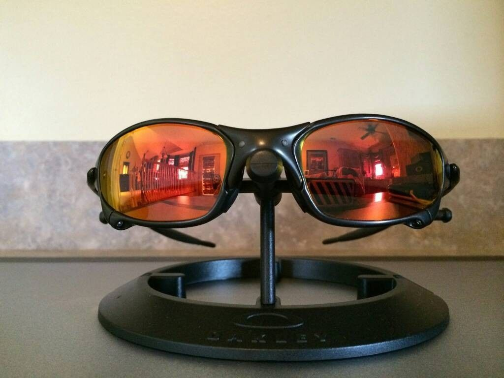 Oakley Juliet....Carbon/Ruby....$400 - uploadfromtaptalk1406836607400.jpg