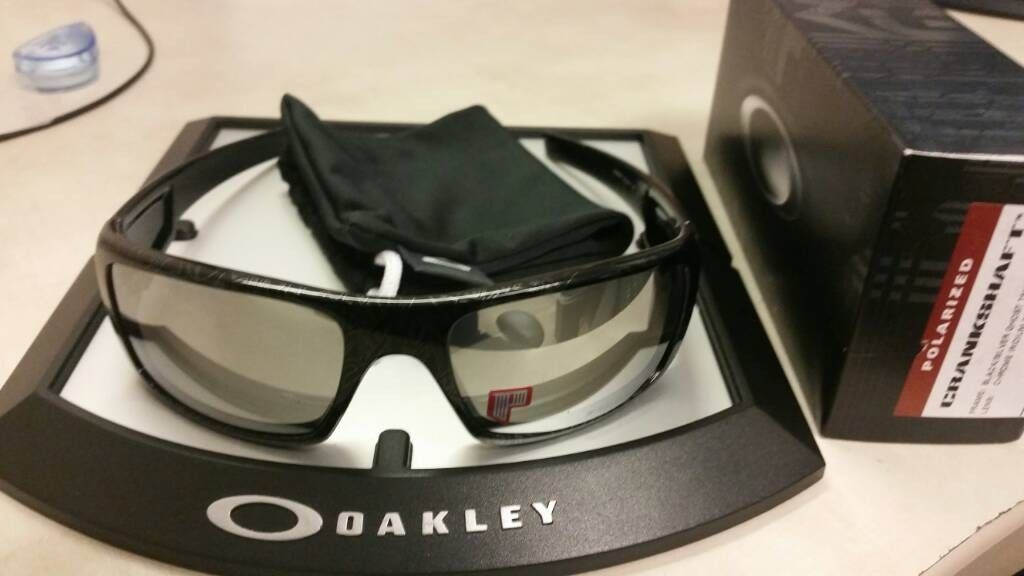 BNIB Crankshaft Ghost Text W/Chrome Iridium Polarized - uploadfromtaptalk1408113352203.jpg