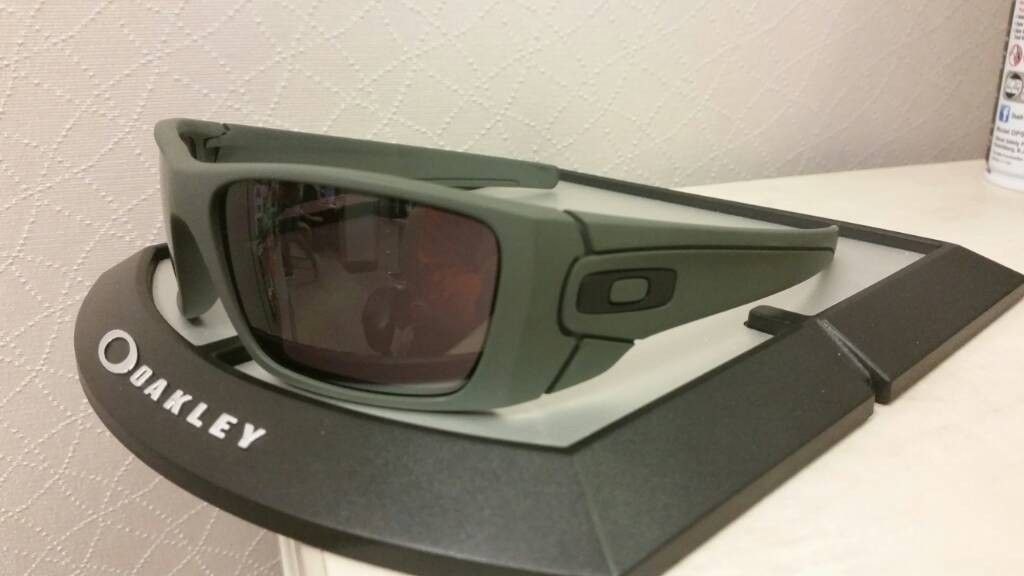 Oakley SI Fuel Cell With ACU Green Cerakote Frame  Grey Lens - uploadfromtaptalk1408548752250.jpg