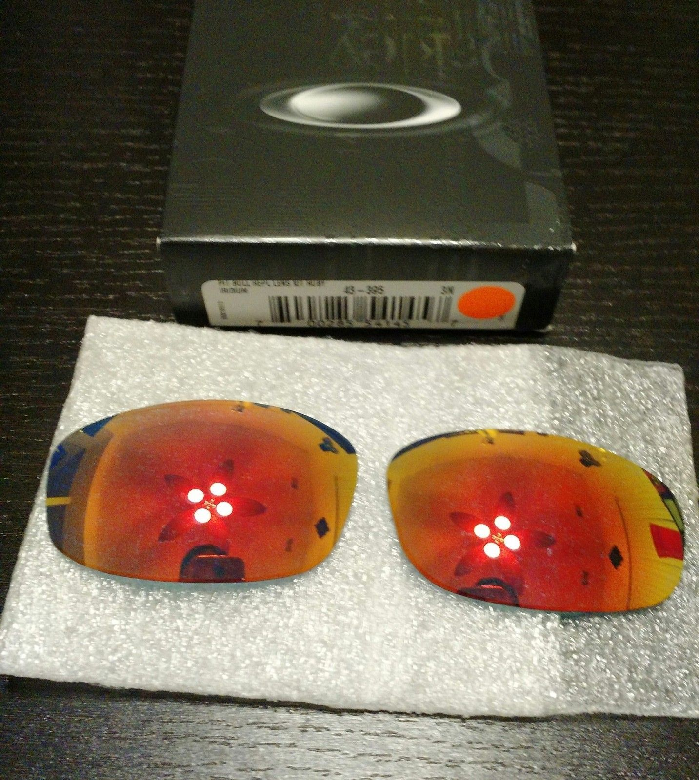 PB1 custom ruby lense and PB2 Black Polarized - uploadfromtaptalk1416879828403.jpg