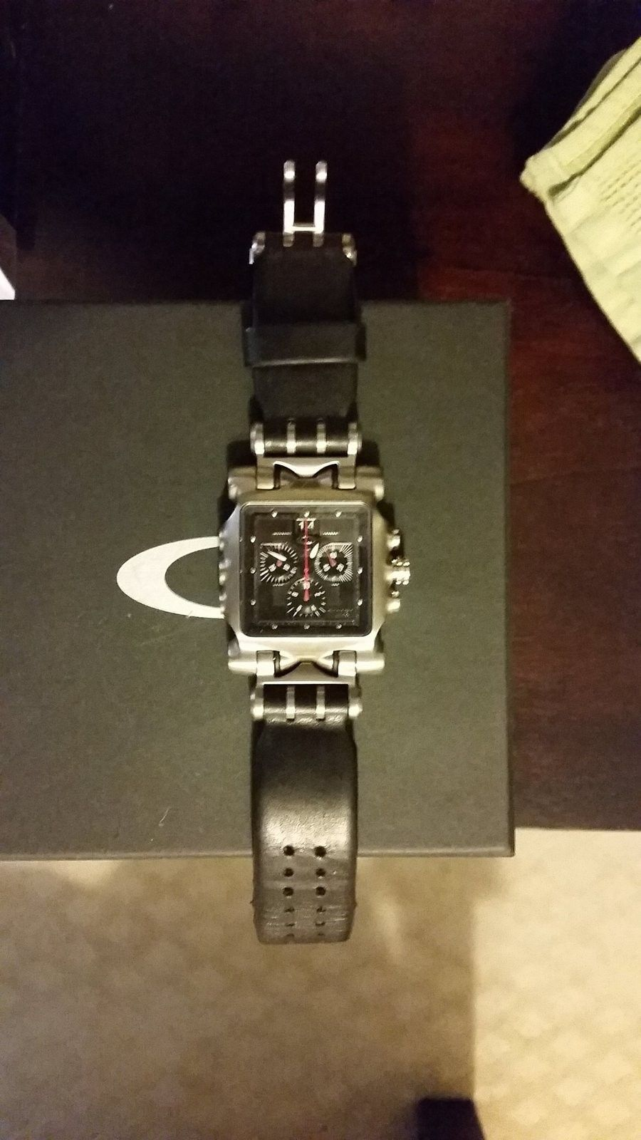 Fs Minute Machine Ti Face /w leather bands - uploadfromtaptalk1421262275655.jpg