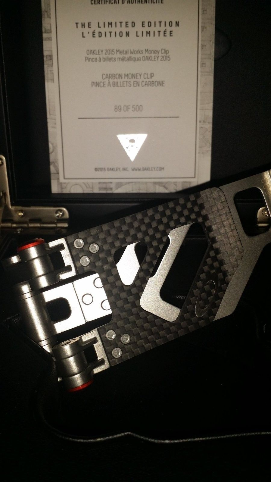 New carbon fiber clip - uploadfromtaptalk1432442806327.jpg