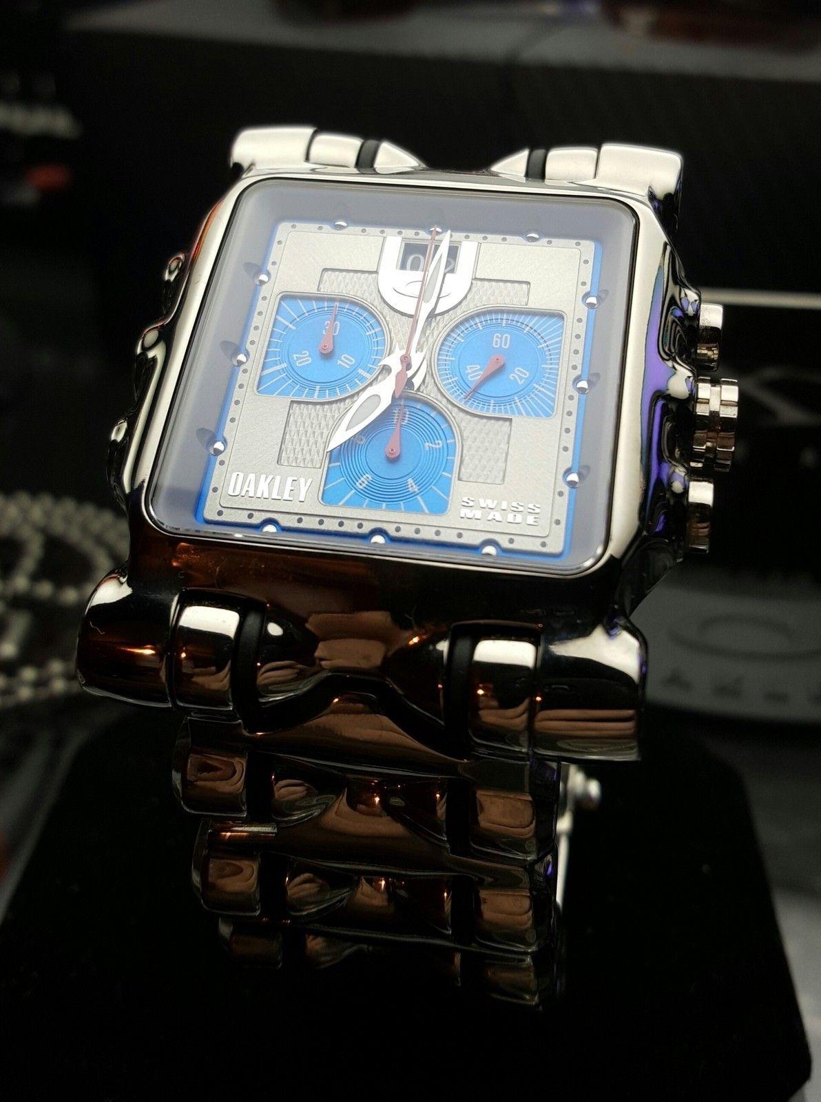 Polished/Blue Face Minute Machine LNIB - uploadfromtaptalk1433295585124.jpg