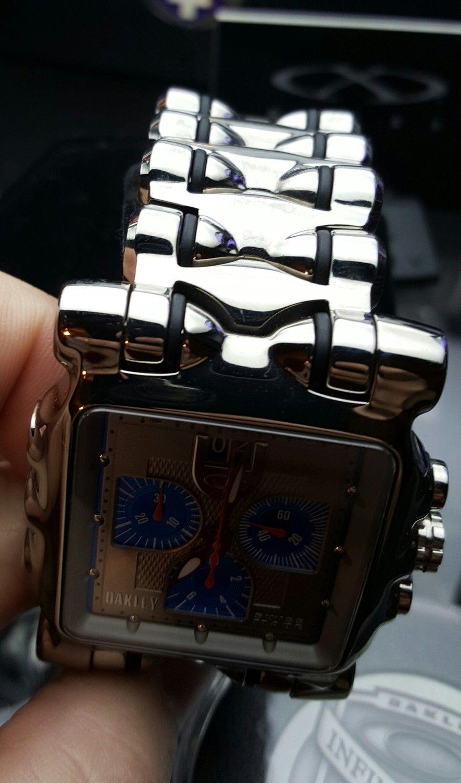 Polished/Blue Face Minute Machine LNIB - uploadfromtaptalk1433295591174.jpg