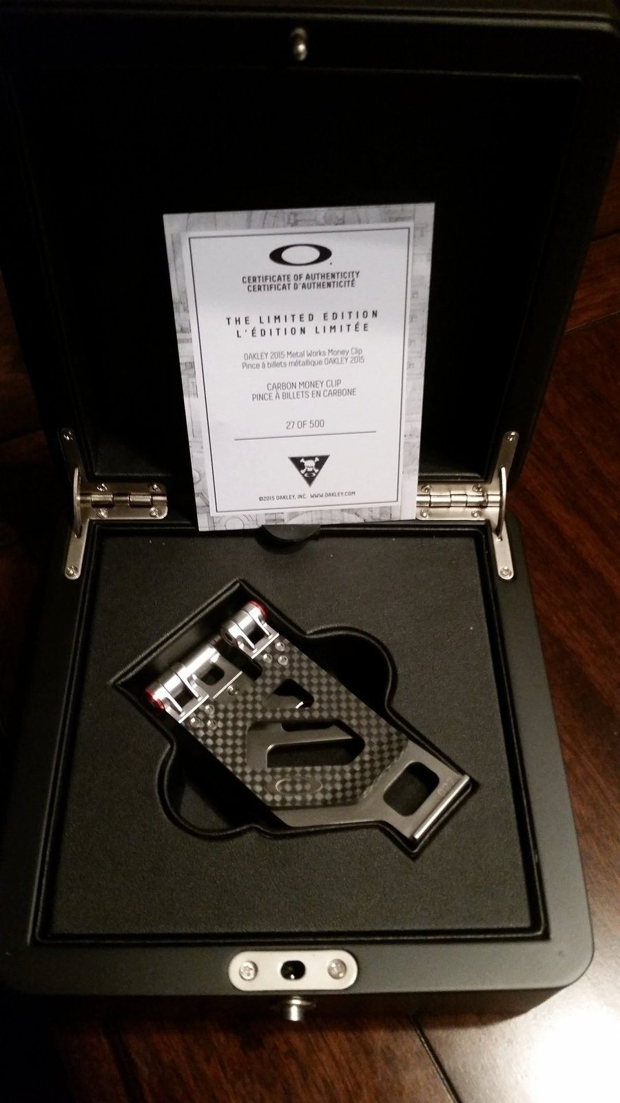 Carbon Fiber Money Clip | Page 31 | Oakley Forum