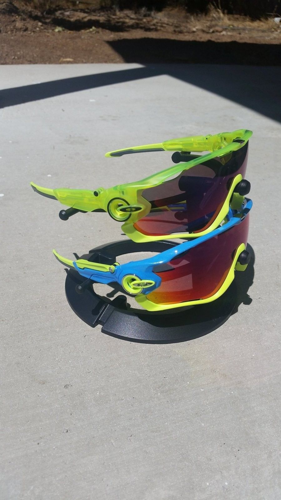 Custom Painted Oakley Jawbreaker