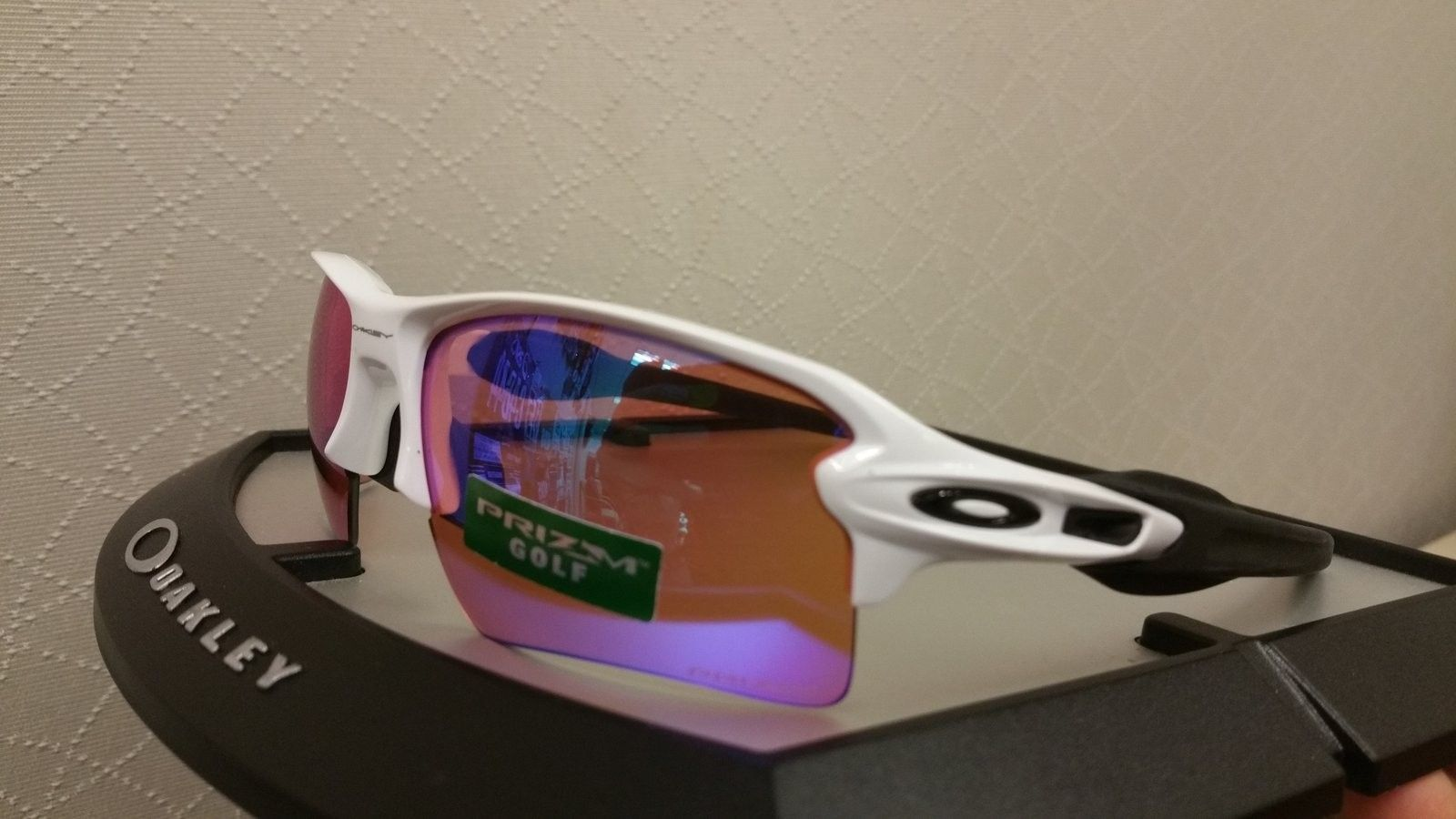 Flak 2.0 polish white w/ Prizm golf - uploadfromtaptalk1438895012537.jpg