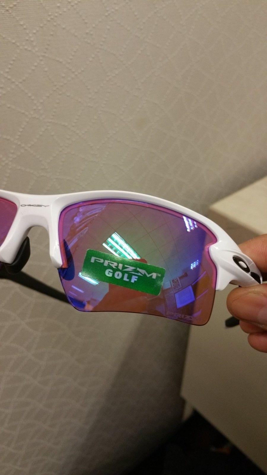 Flak 2.0 polish white w/ Prizm golf - uploadfromtaptalk1438895023439.jpg