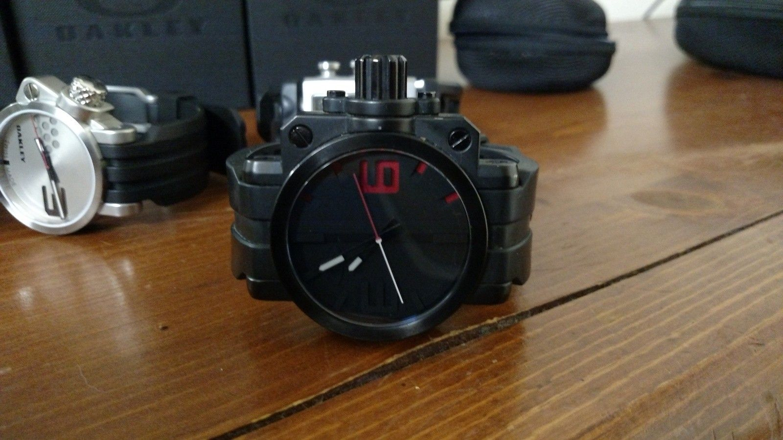 Oakley Fuse Box Stealth Watch Heritage Malta Manual
