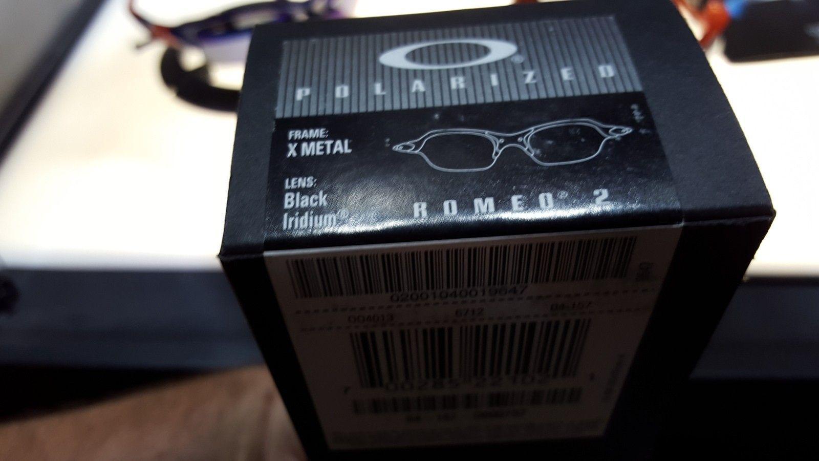 Oakley Romeo 2 w/ Medusa Coin - uploadfromtaptalk1449684844158.jpeg