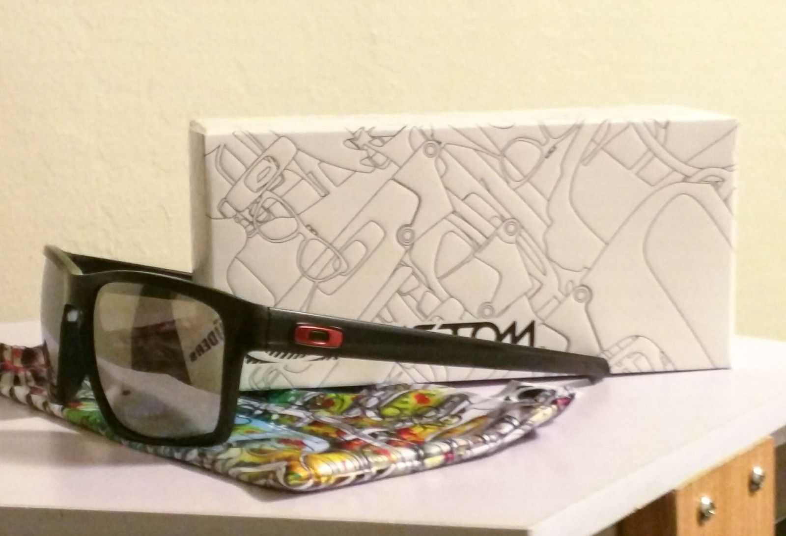 Delivery time for First Custom Sunglasses from Oakley? - uploadfromtaptalk1450235789403.jpg