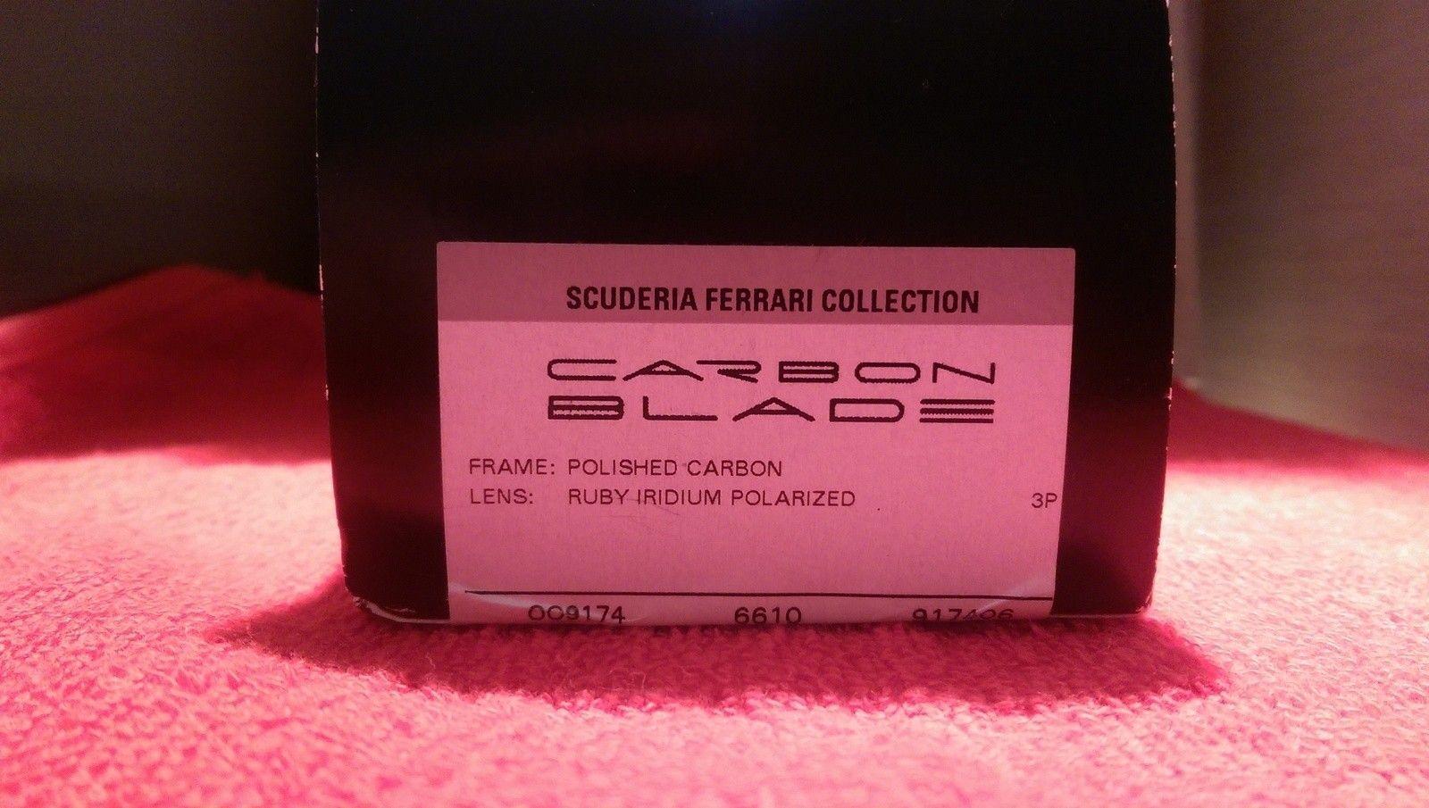 Oakley Scuderia Ferrari Carbon Blade ***Price Drop*** - uploadfromtaptalk1452607948239.jpg