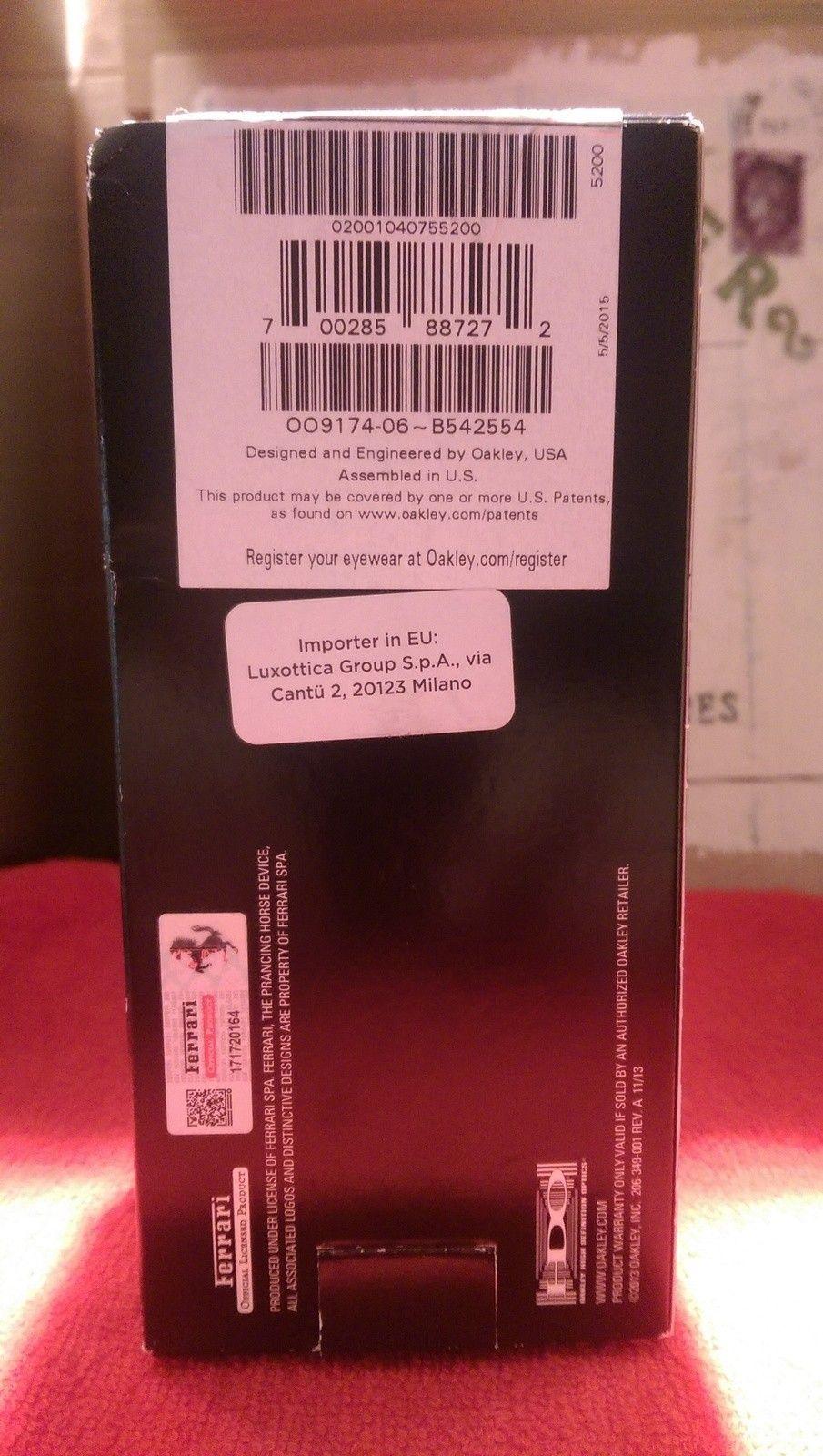 Oakley Scuderia Ferrari Carbon Blade ***Price Drop*** - uploadfromtaptalk1452607996092.jpg