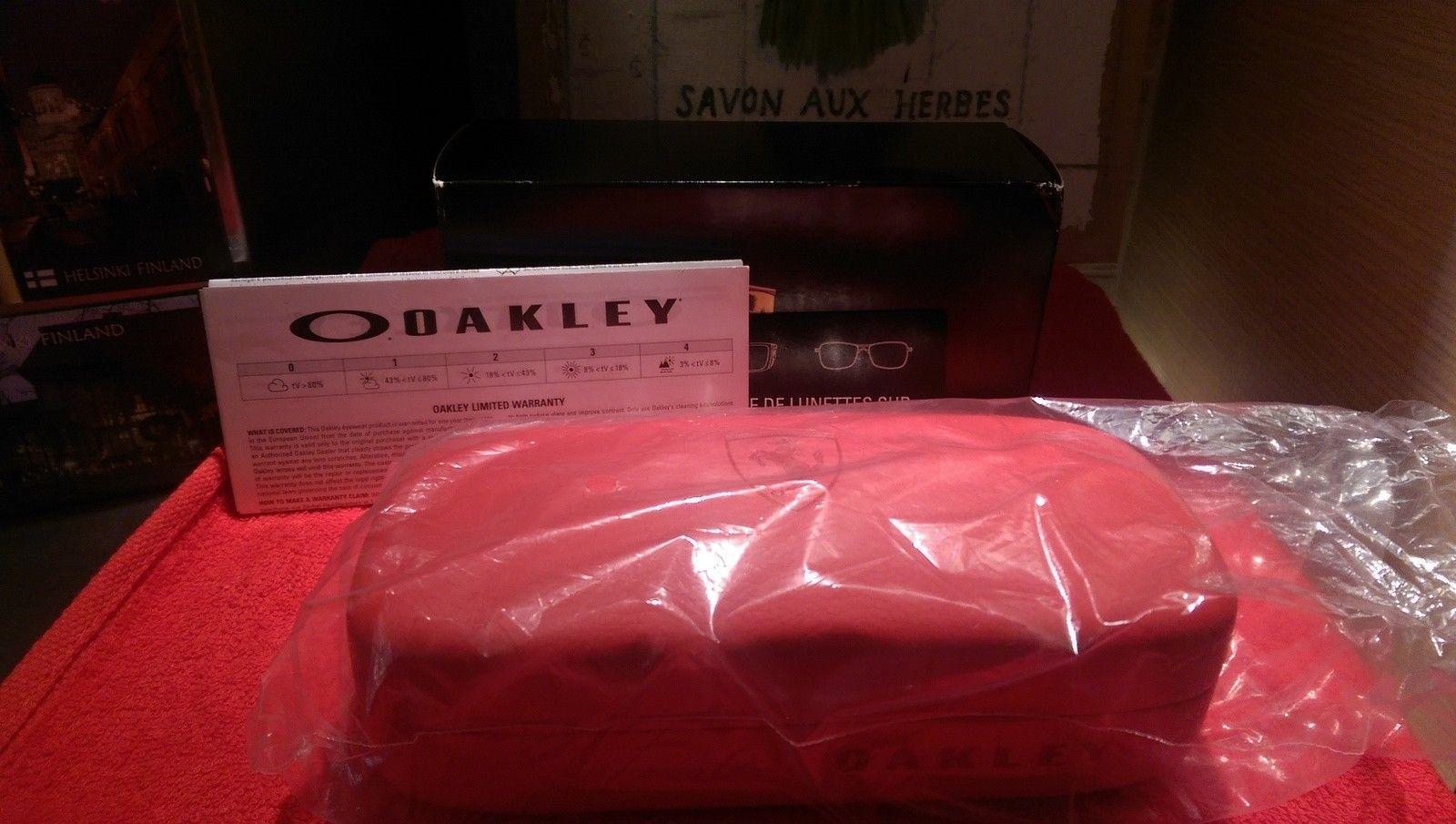 Oakley Scuderia Ferrari Carbon Blade ***Price Drop*** - uploadfromtaptalk1452608029238.jpg