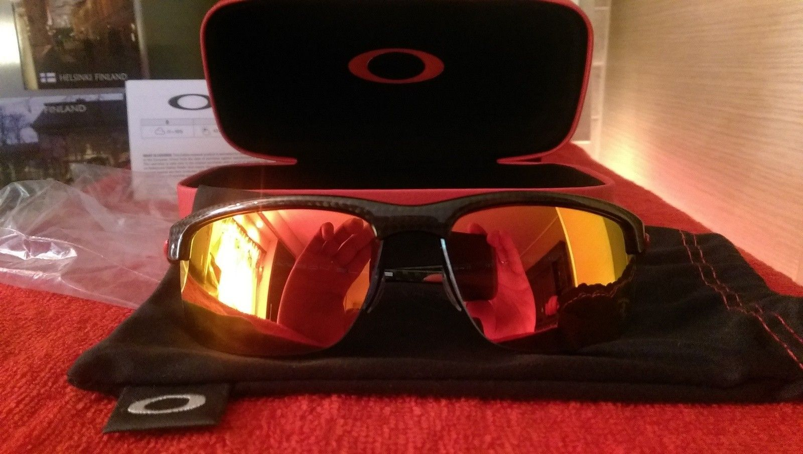 Oakley Scuderia Ferrari Carbon Blade ***Price Drop*** - uploadfromtaptalk1452608180046.jpg