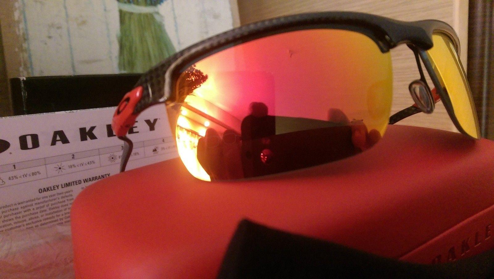 Oakley Scuderia Ferrari Carbon Blade ***Price Drop*** - uploadfromtaptalk1452608221001.jpg