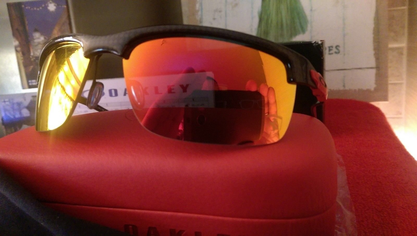 Oakley Scuderia Ferrari Carbon Blade ***Price Drop*** - uploadfromtaptalk1452608251029.jpg