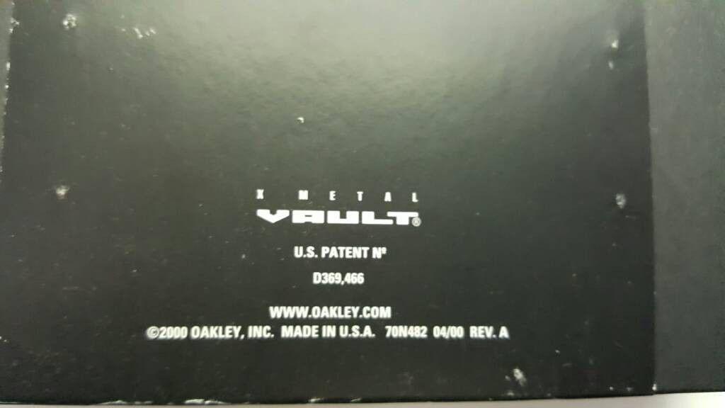 X Metal Vault LNIB - uploadfromtaptalk1463761577785.jpg