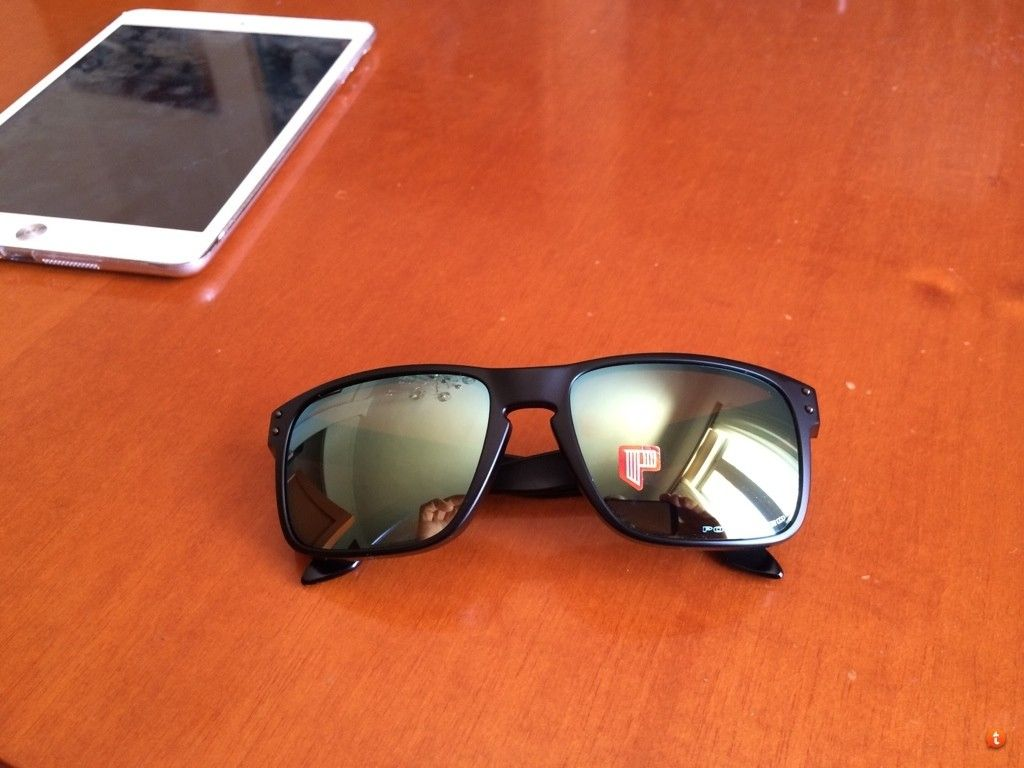 Holbrook Matte Black Frame With Emerald Iridium Polarized New For Trade. - uqa8esuv.jpg
