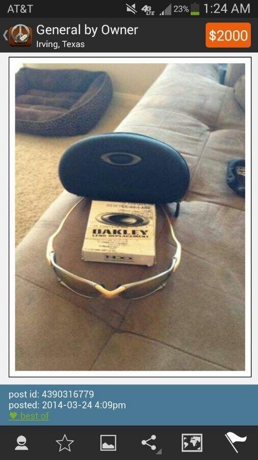 Oakley Romeo Titanium - Crazy Listing! - uqeme5e2.jpg