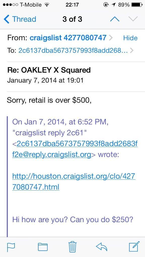 Funny Craigslist Oakley Ads.. - ury8yhy9.jpg