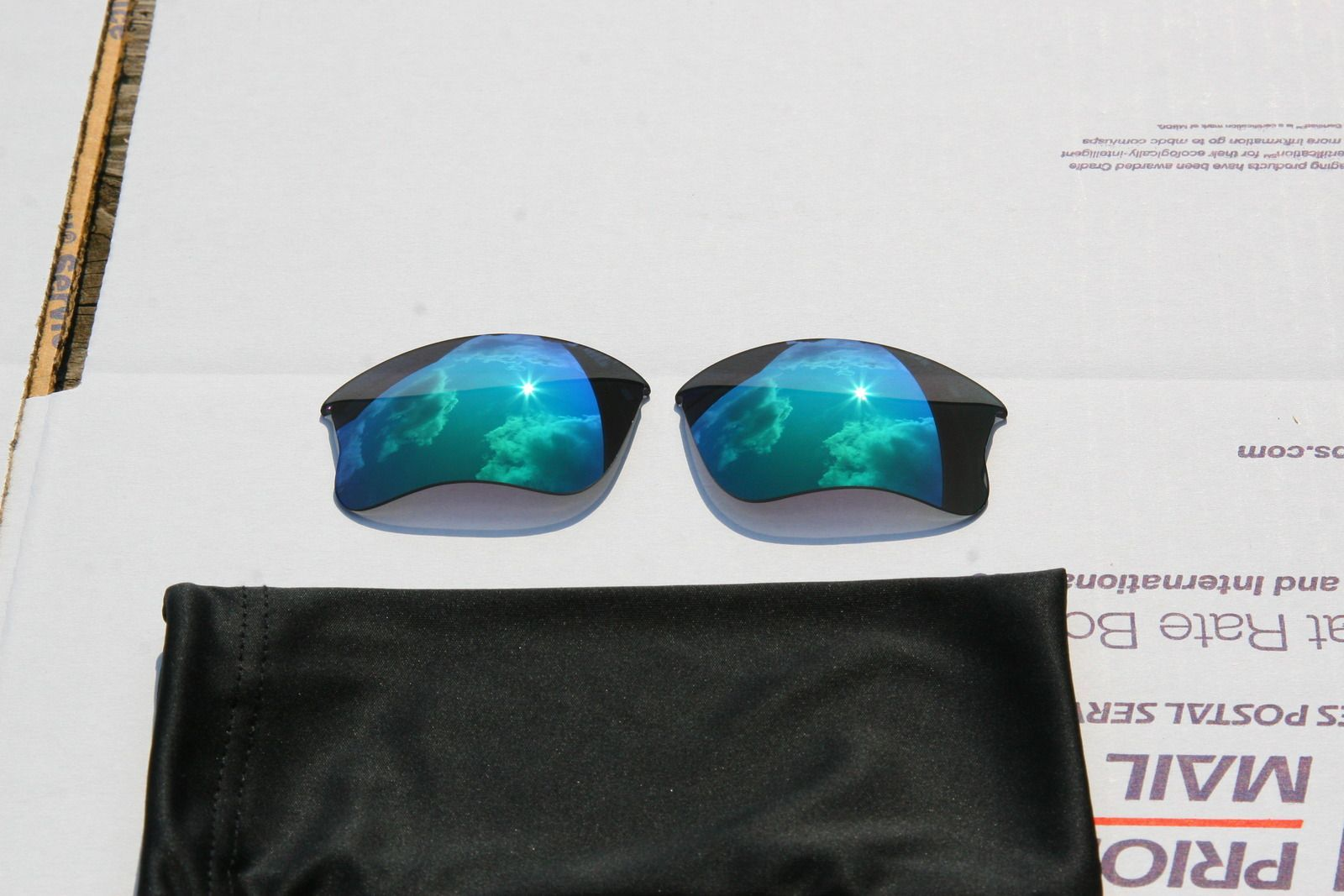 Oakley Flak Jacket Infrared Frame 03-896 And Jade Iridium XLJ Lenses - uujj.jpg