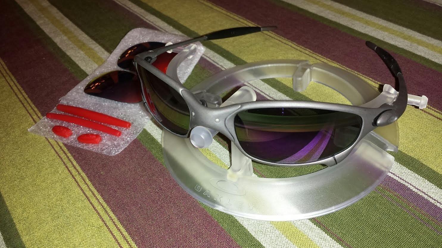 Custom Oakley Juliet X-Metal w/ Infinite Hero lenses - violet.jpe