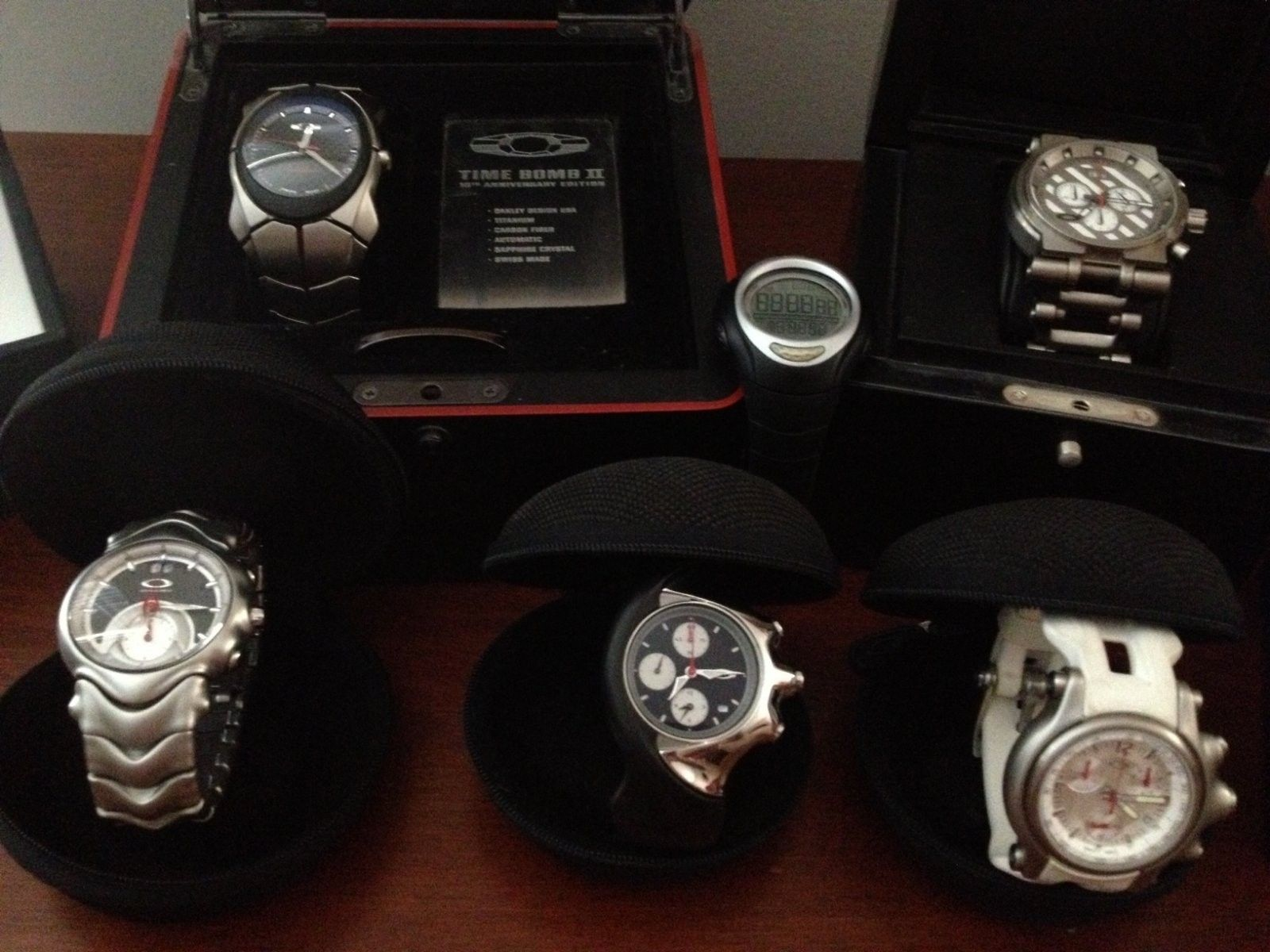 My Oakley Watch Collection - Watch Collection 1.jpg