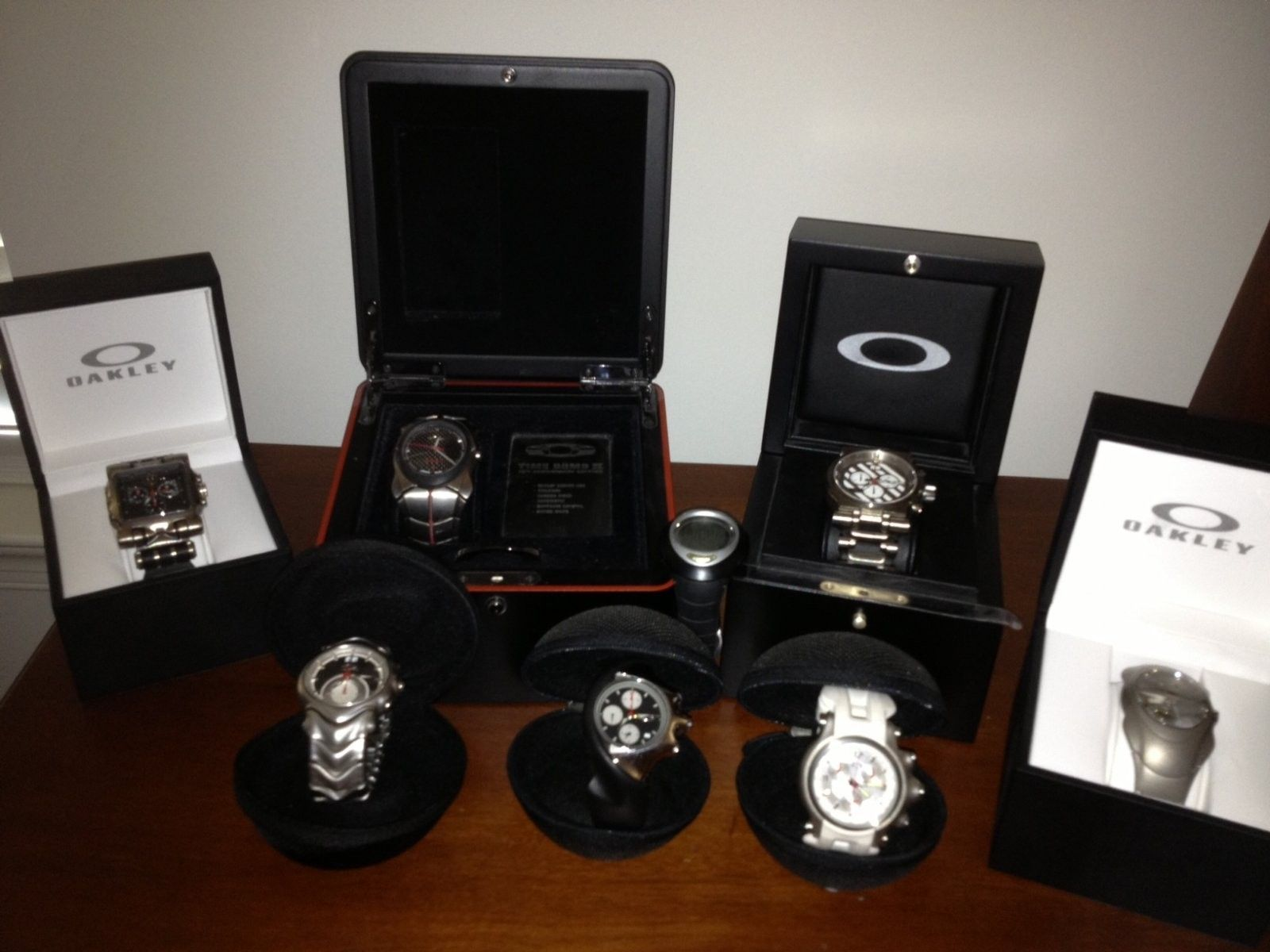 My Oakley Watch Collection - Watch Collection.jpg