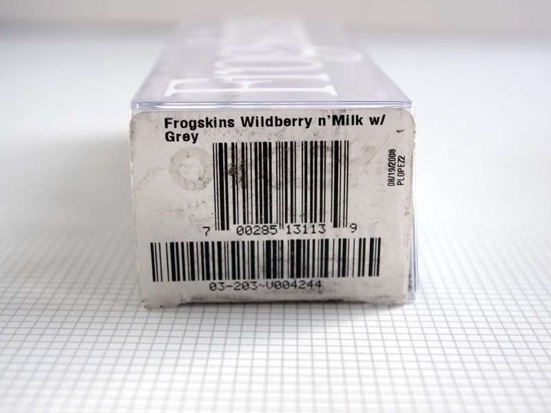 For Sale: Wildberry 'n Milk Frogskins - Wildberry01.jpg