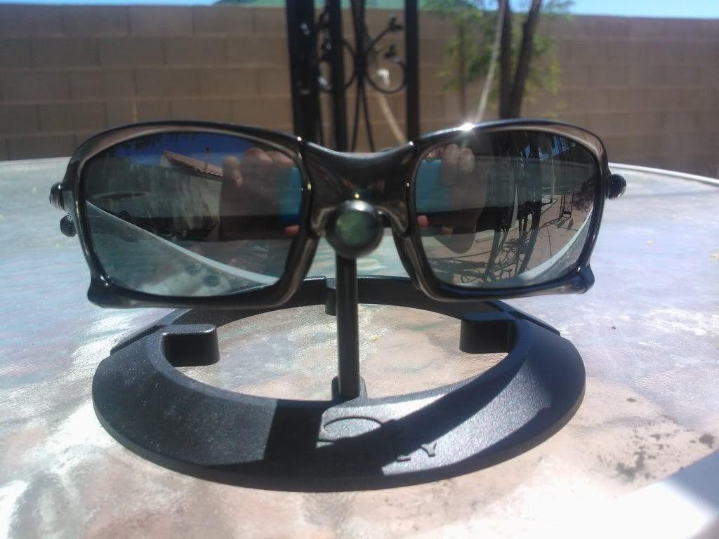 X Squared Polished Carbon / Black Iridium Polarized Lens - WP_001248.jpg