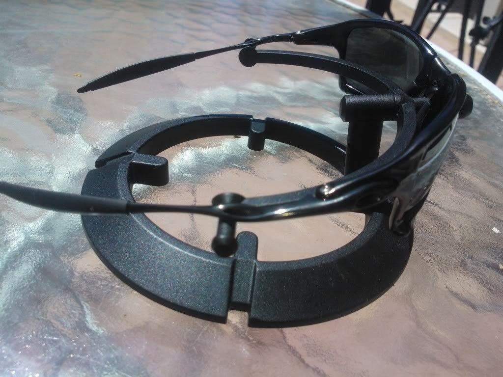 X Squared Polished Carbon / Black Iridium Polarized Lens - WP_001251.jpg