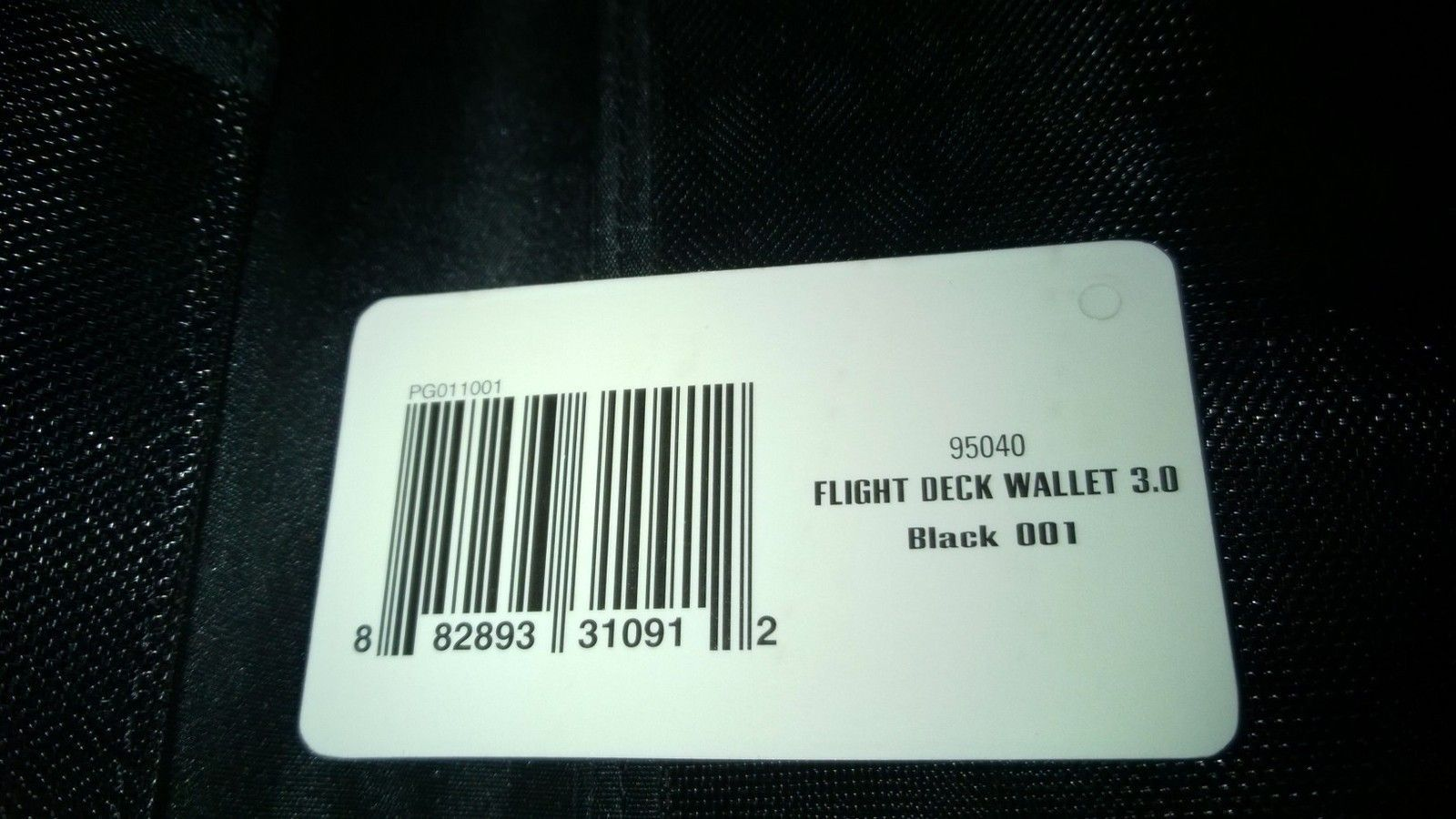 Flight Deck 3.0 Travel Wallet 95040-001 Black Camo - WP_20150128_001.jpg