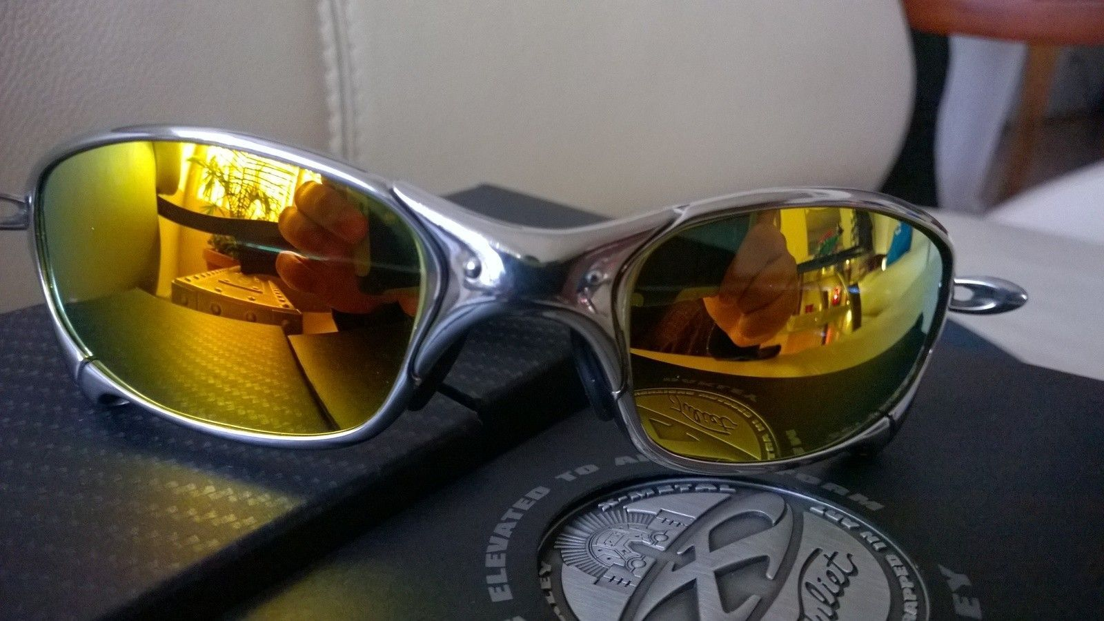Polished / Fire Polarized Juliet with X Metal Hard Vault - WP_20150205_08_17_53_Pro.jpg